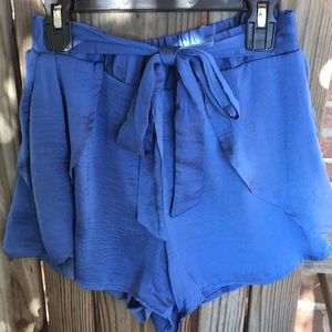 Pants - Blue Day Out Shorts